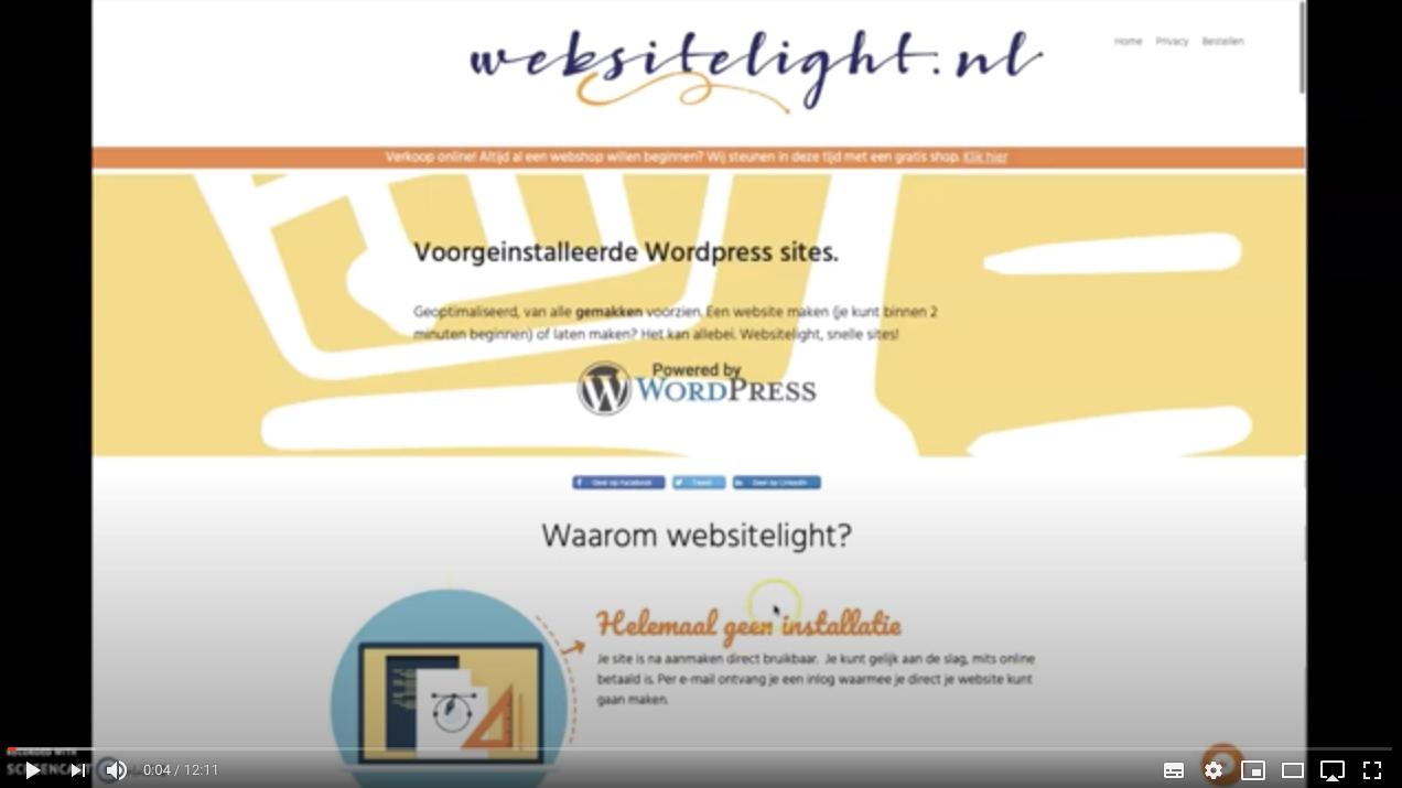 webshop maken